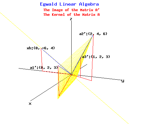 Image of the Matrix A transpose in Yellow